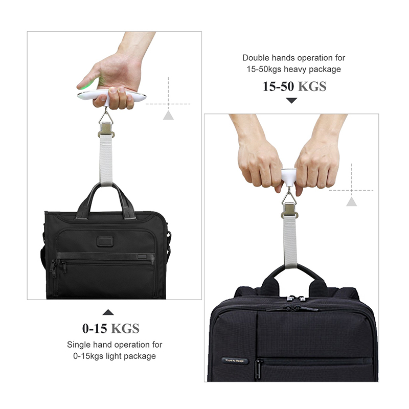 Electronic Portable Digital Hanging Luggage Scale