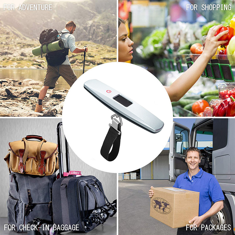 Mini Touch Key Digital Luggage Scale